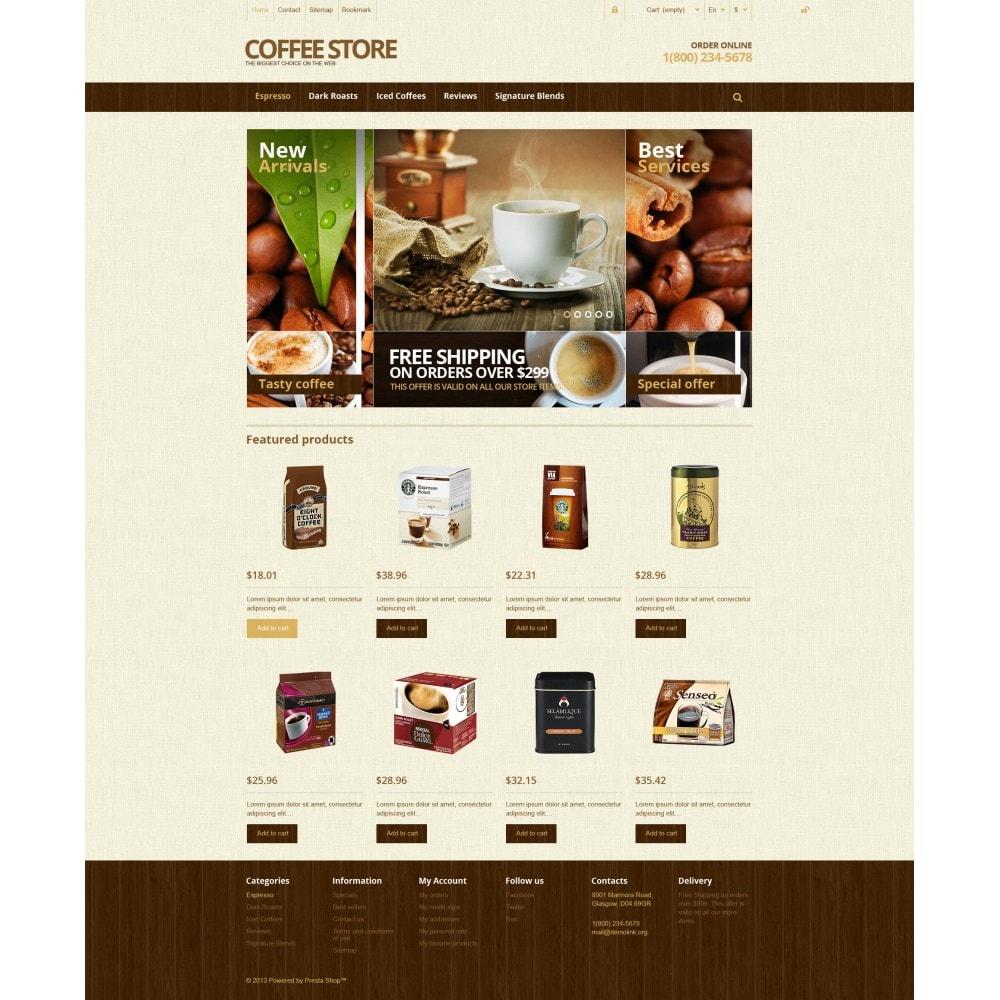 theme - Żywność & Restauracje - Responsive Coffee Store - 4