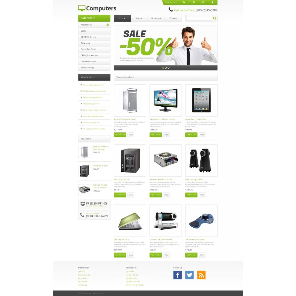theme - Elektronica & High Tech - Responsive Computers Store - 2