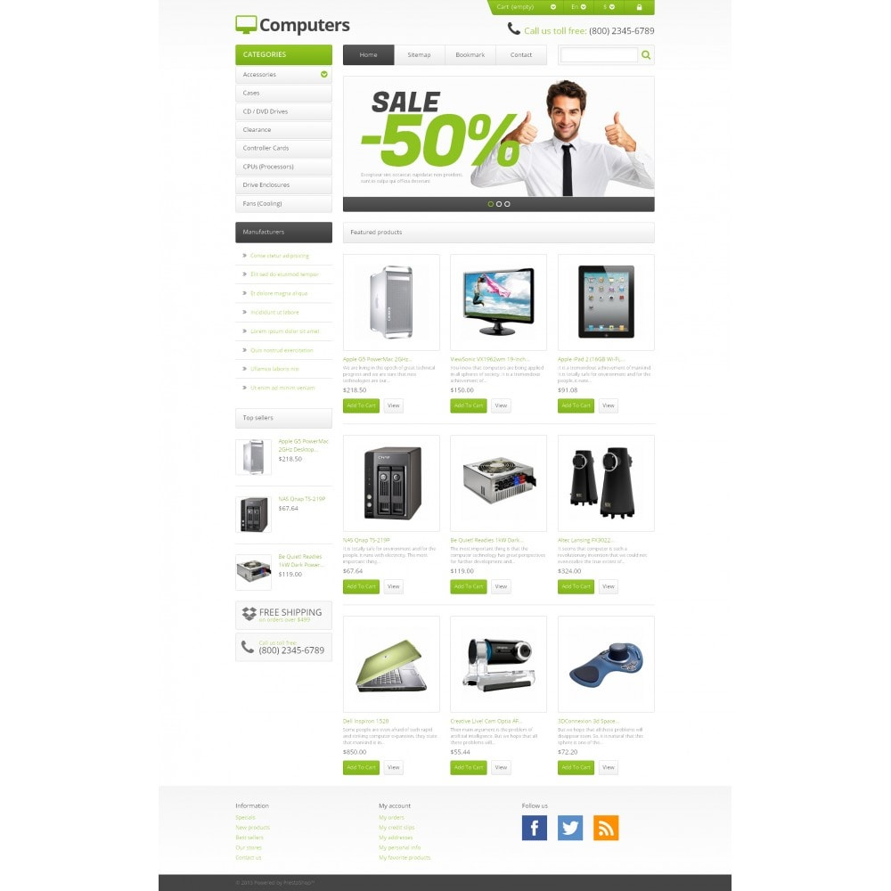 theme - Eletrônicos & High Tech - Responsive Computers Store - 4