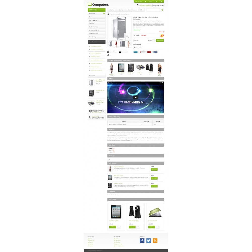 theme - Electronique & High Tech - Responsive Computers Store - 6