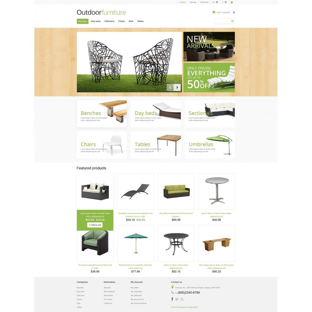 theme - Arte e Cultura - Outdoor Furniture Store - 2