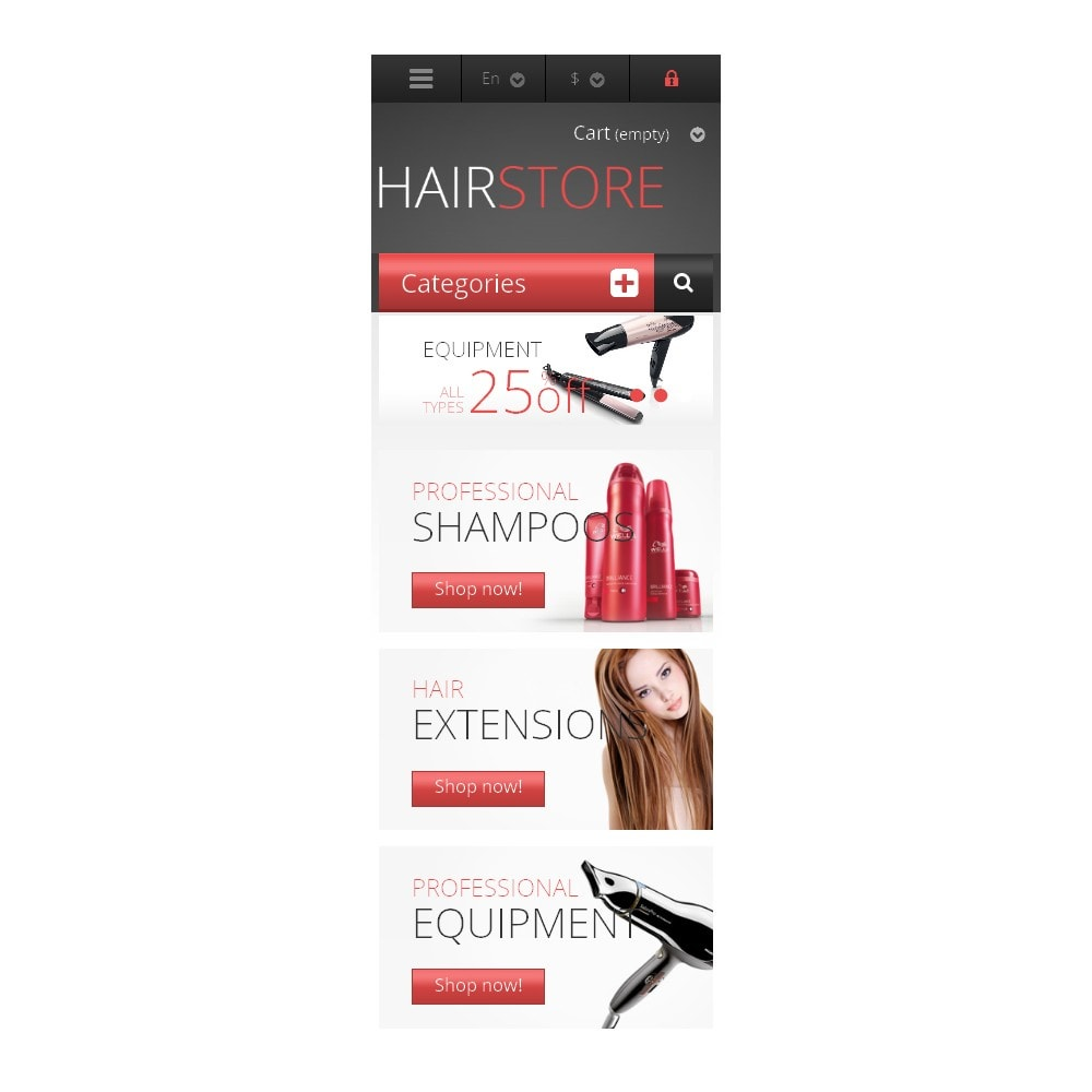 theme - Mode & Schoenen - Responsive Hair Store - 9