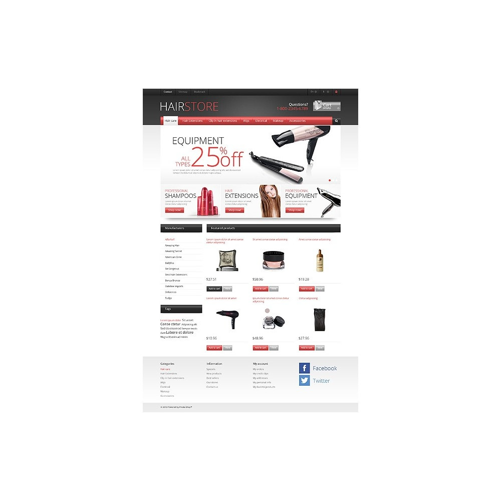 theme - Mode & Schoenen - Responsive Hair Store - 10