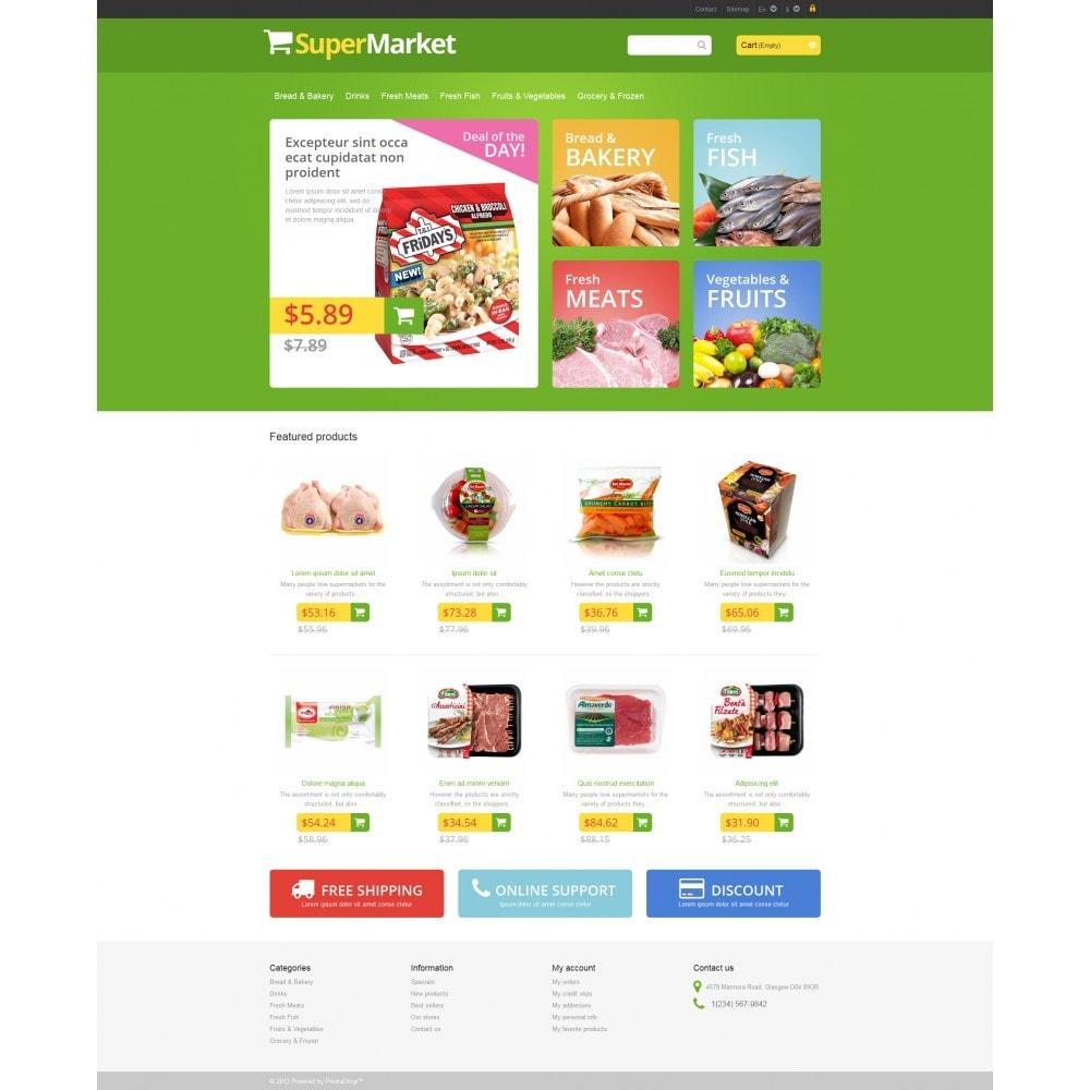 theme - Eten & Restaurant - Responsive Supermarket - 4