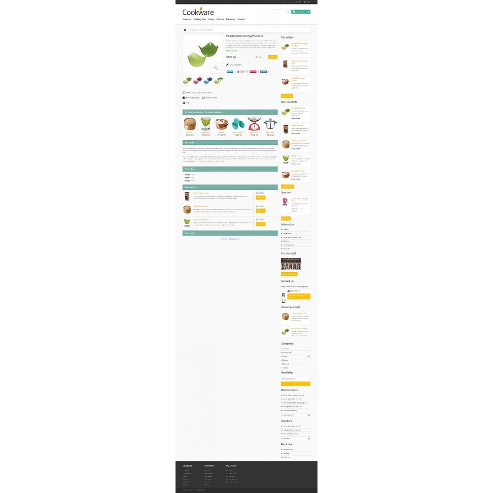 theme - Art & Culture - Responsive Cookware Store - 6
