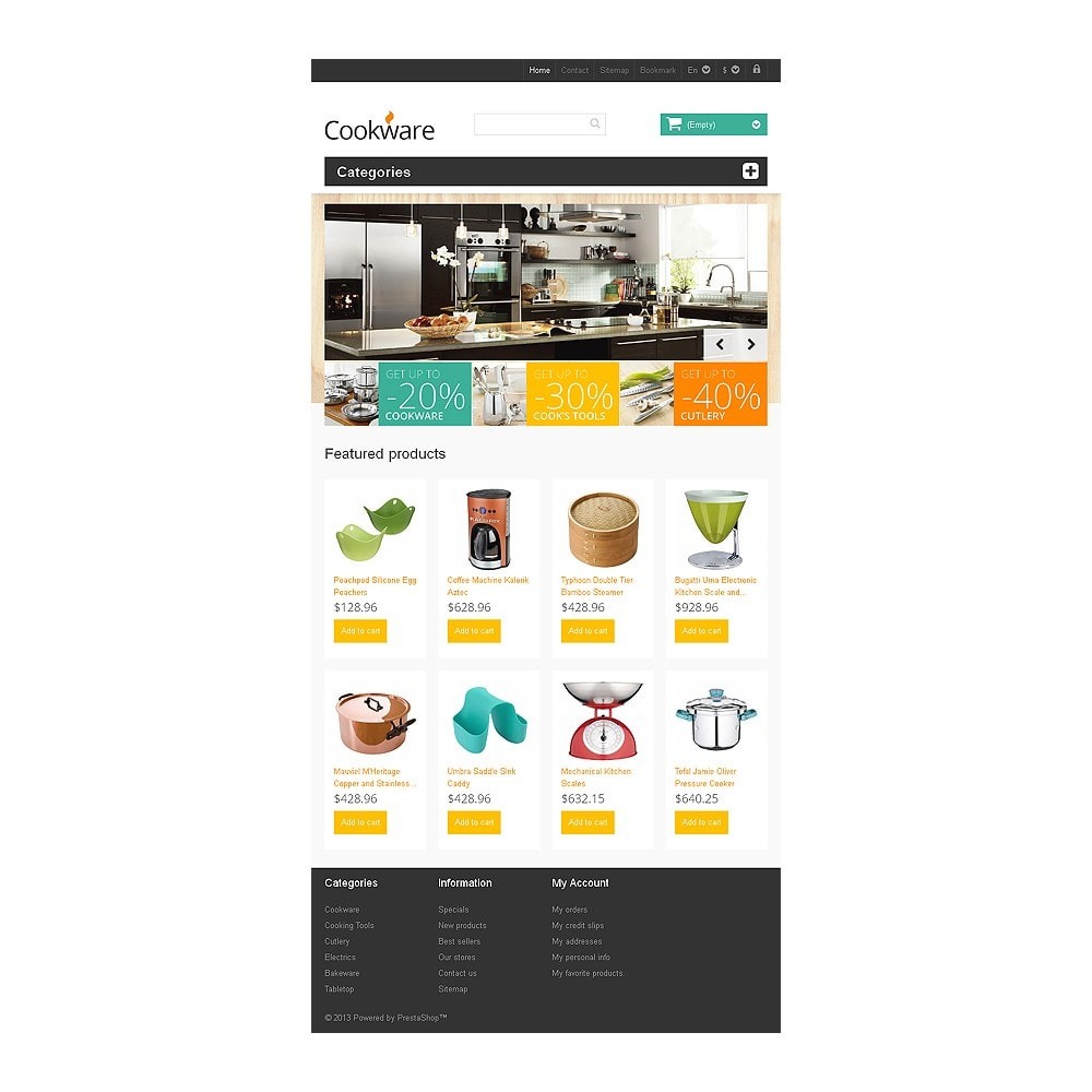 theme - Art & Culture - Responsive Cookware Store - 7