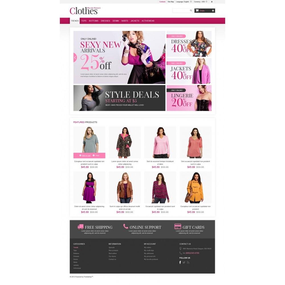 theme - Moda & Obuwie - Plus Size Clothes Store - 4