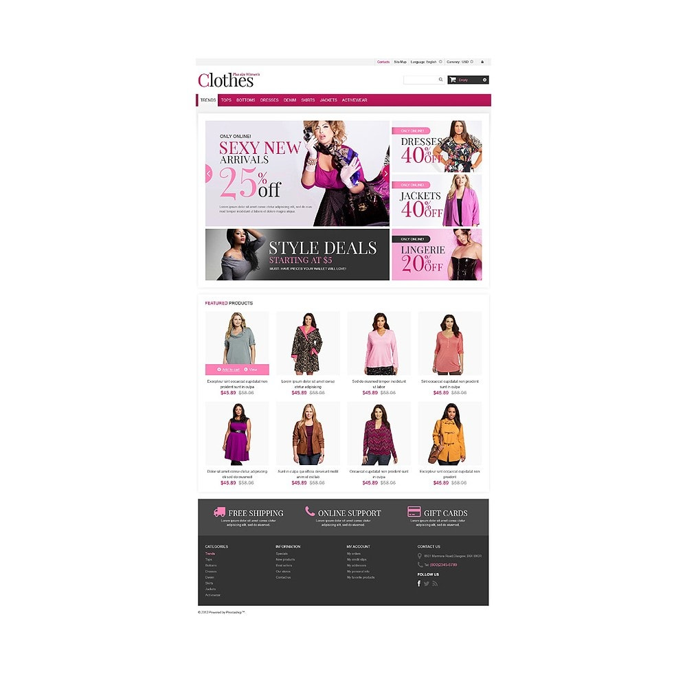 theme - Fashion & Shoes - Plus Size Clothes Store - 10