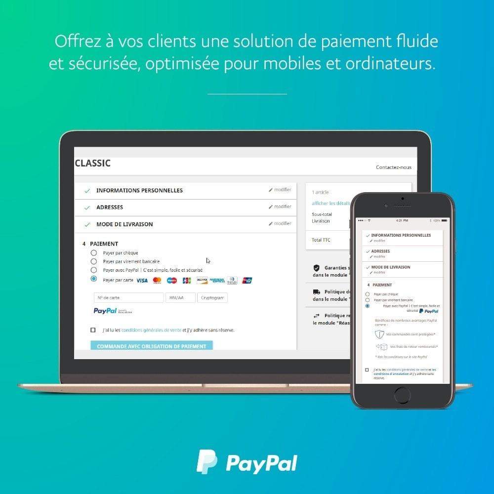 module - Paiement par Carte ou Wallet - PayPal Officiel - 1