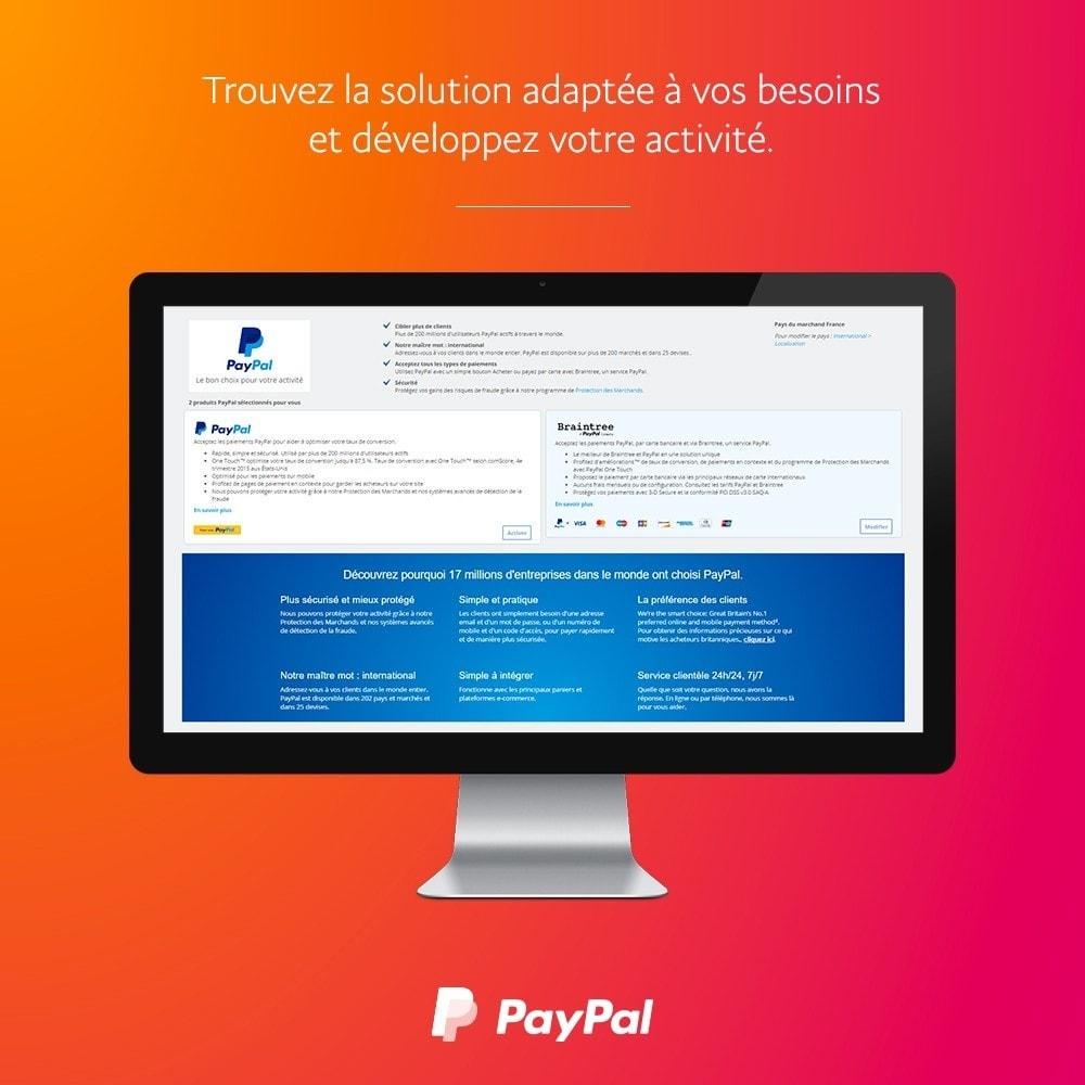 module - Paiement par Carte ou Wallet - PayPal Officiel - 2