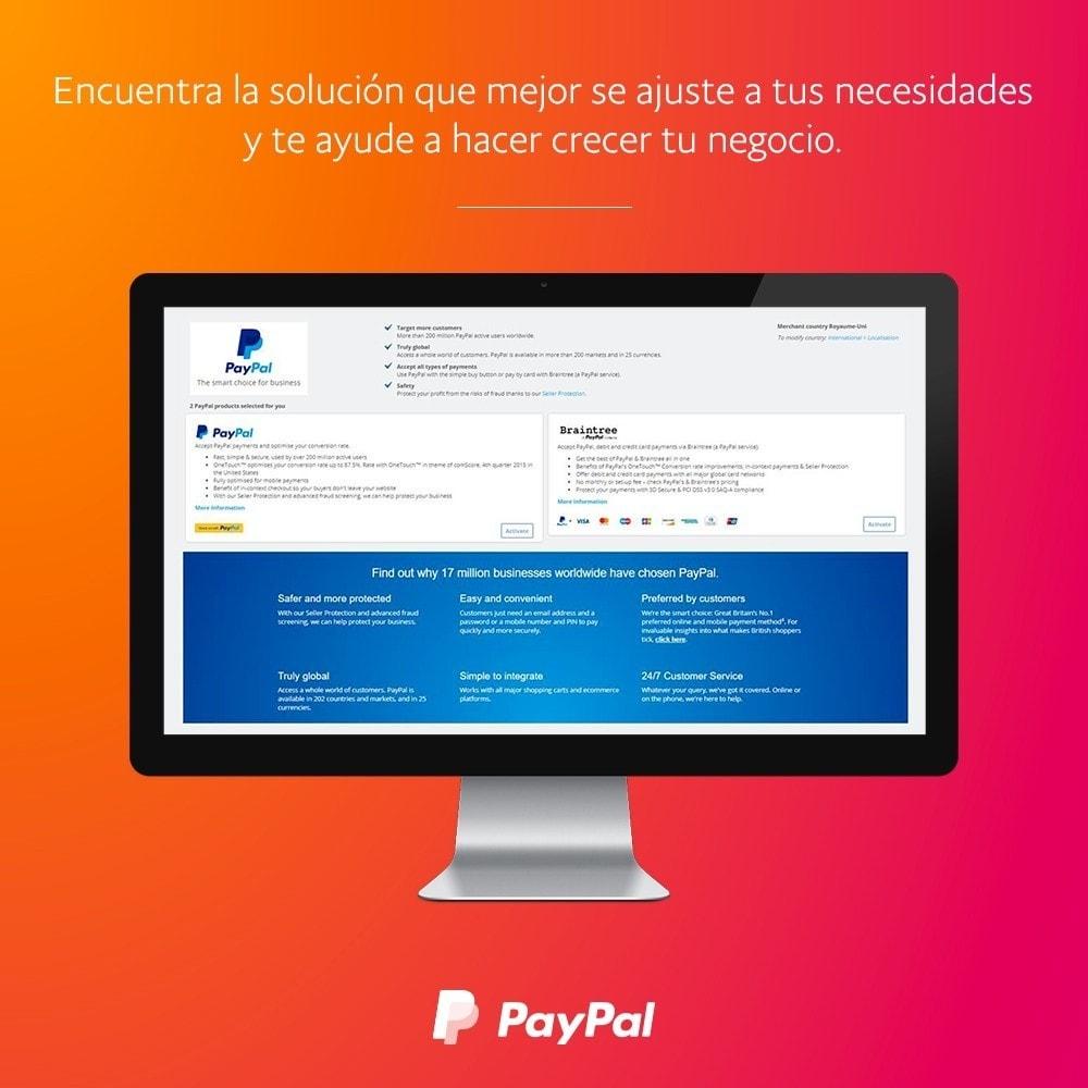 module - Pago con Tarjeta o Carteras digitales - oficial de PayPal y Braintree - 2