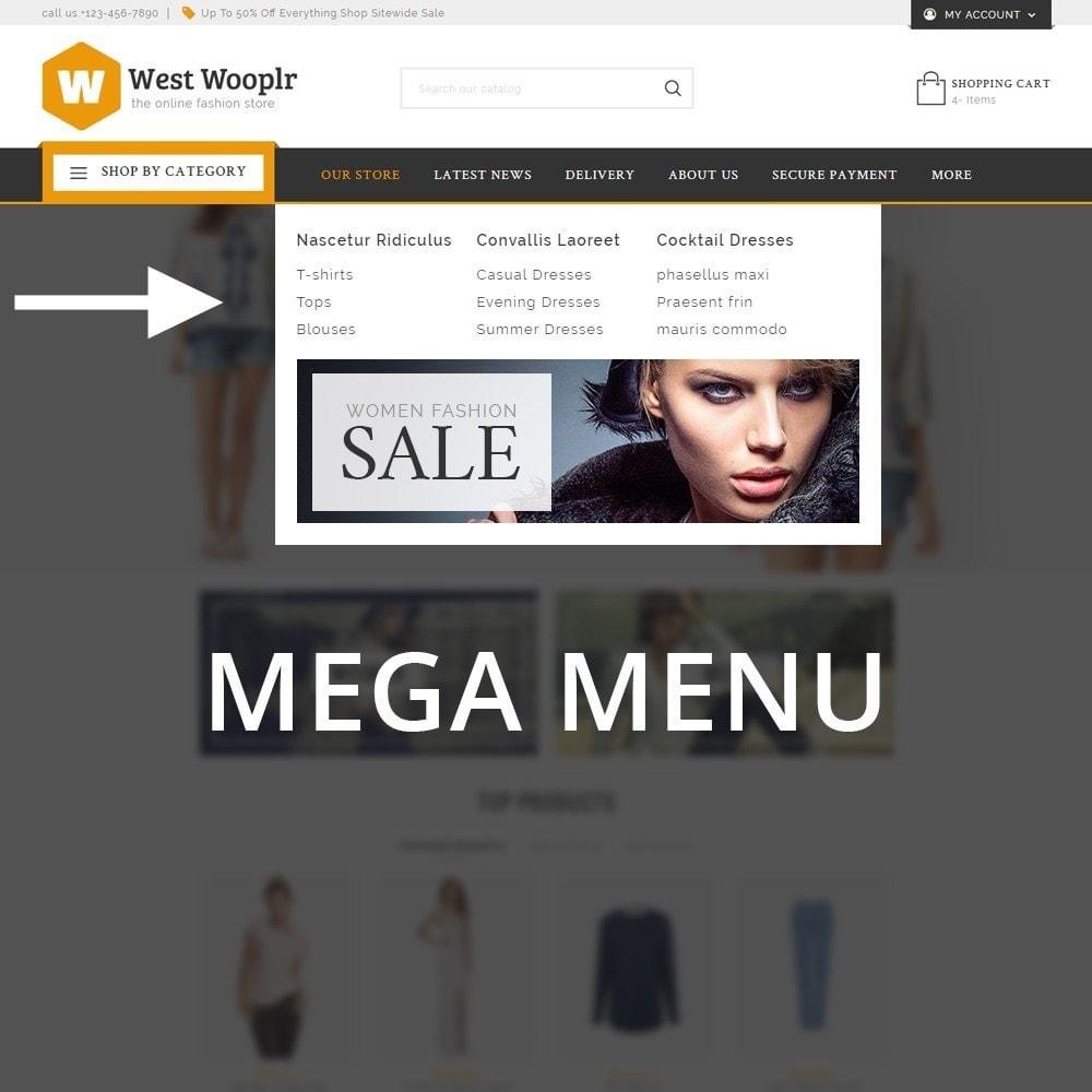 theme - Moda & Calzature - West Wooplr - Fashion Market - 9