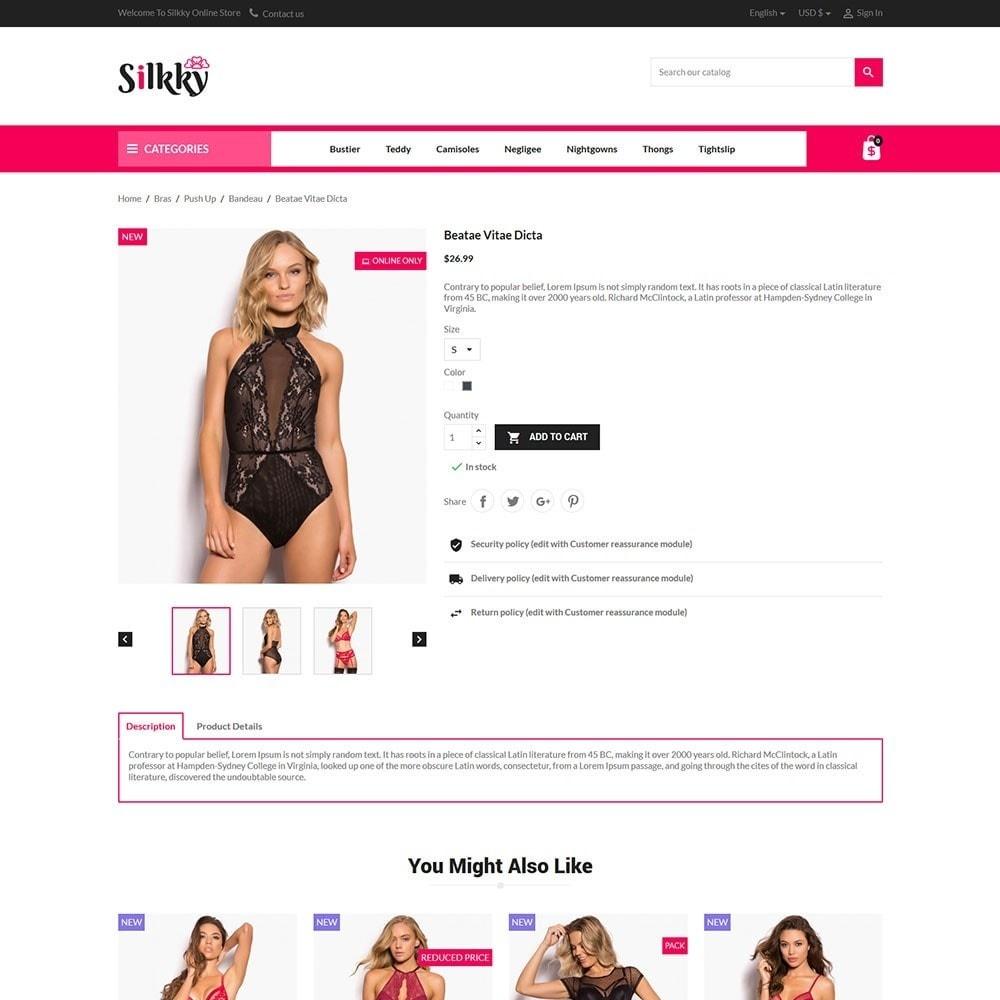 theme - Lingerie & Adultos - Silkky - Lingerie Online Store - 5