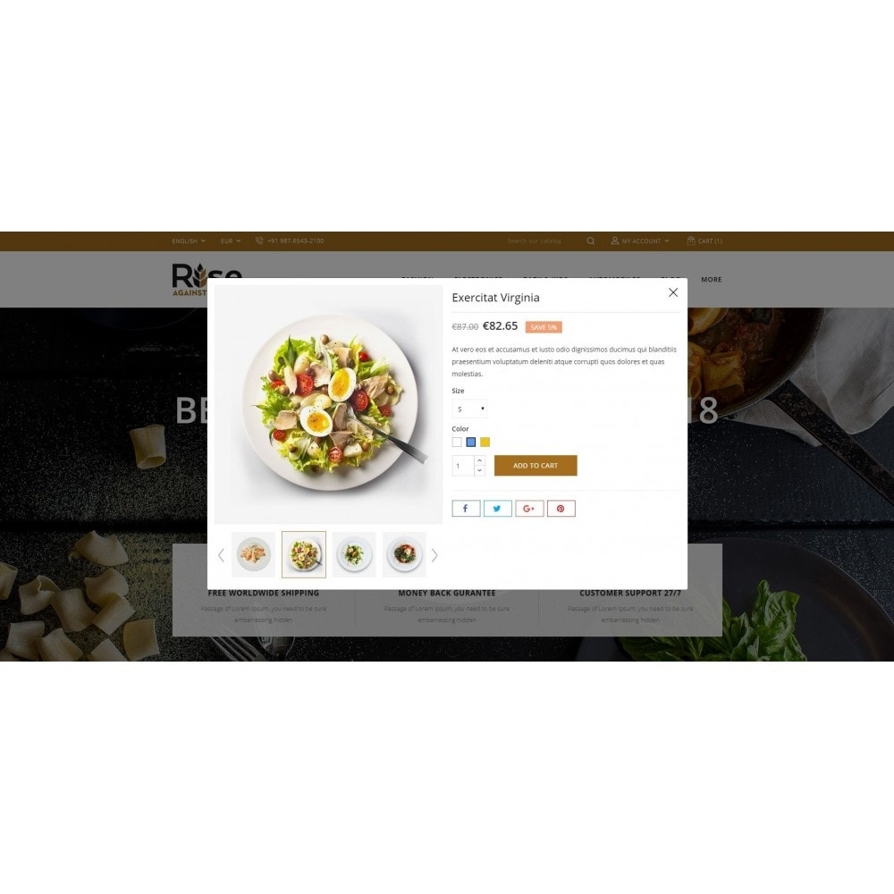 theme - Lebensmittel & Restaurants - RISE - Food Store - 7