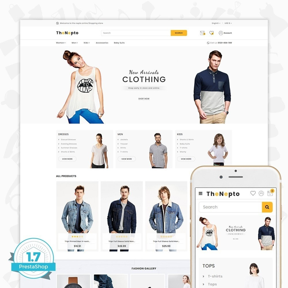 theme - Moda y Calzado - The Nepto - The Fashion Store - 1