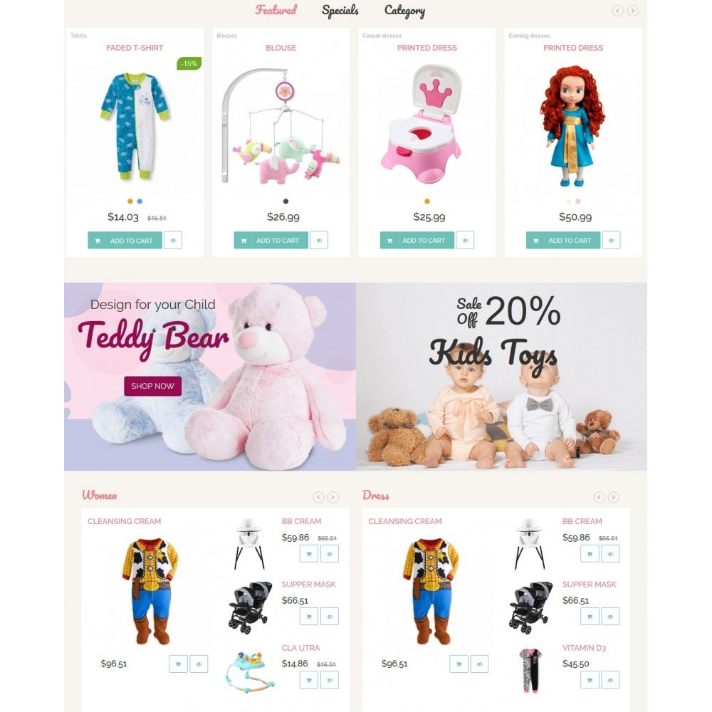 theme - Enfants & Jouets - Childhood Kids Toys Store - 5