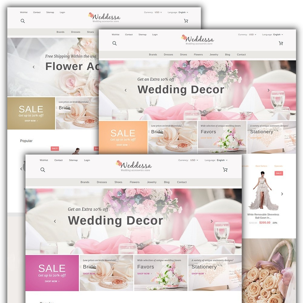 theme - Moda & Obuwie - Weddessa - Wedding Shop - 2