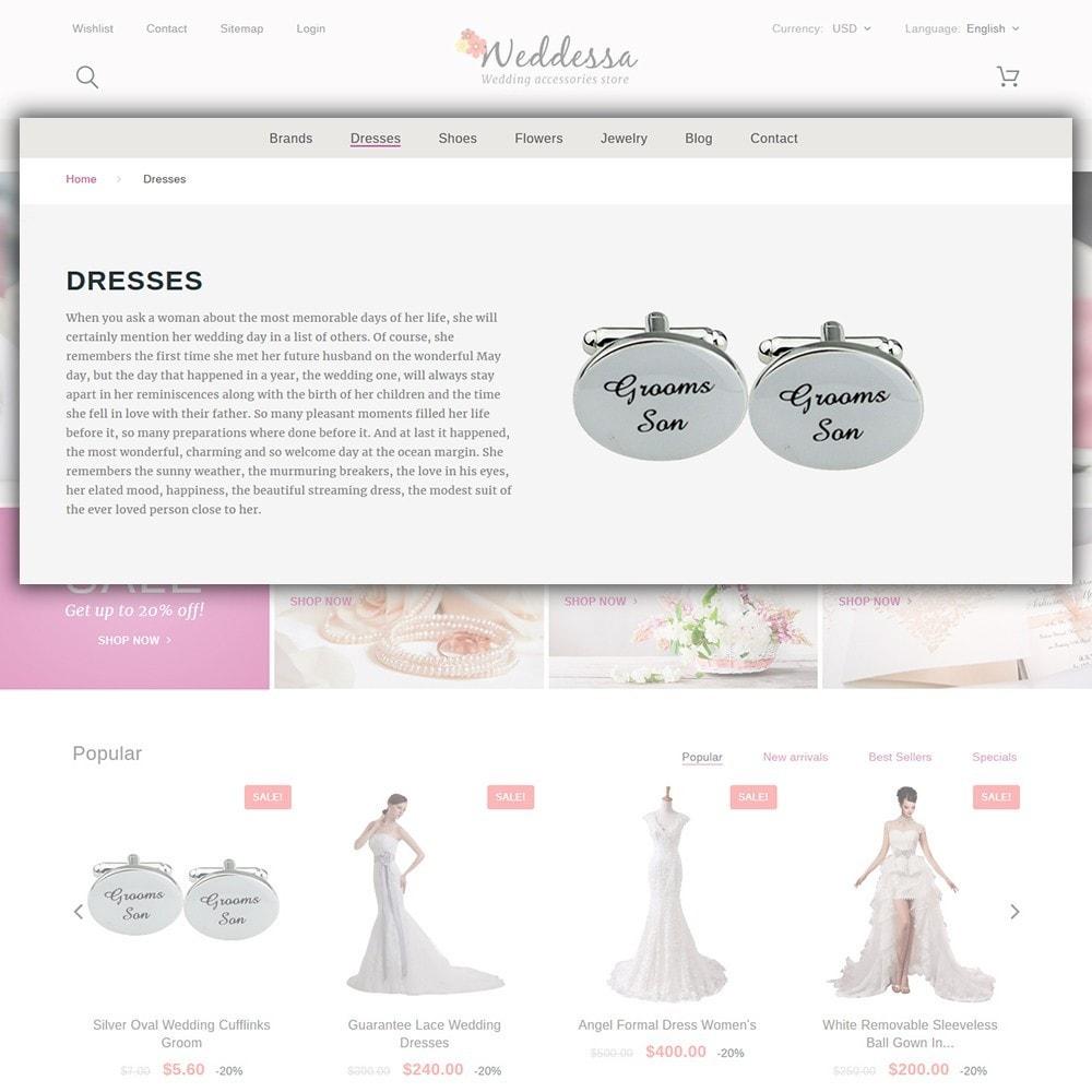theme - Mode & Chaussures - Weddessa - Magasin de mariage - 6