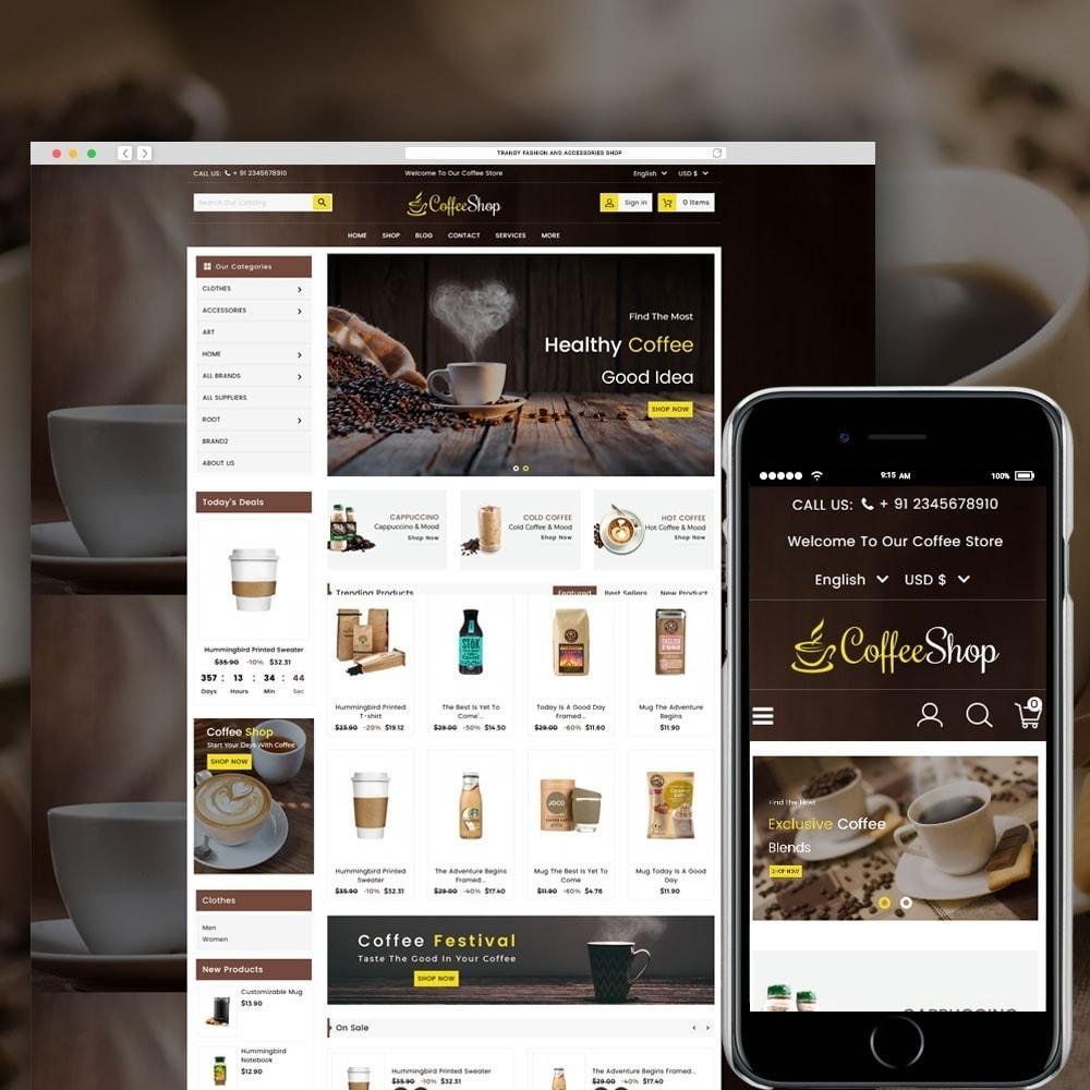 theme - Bebidas & Tabaco - Coffee and Drinks Store - 1