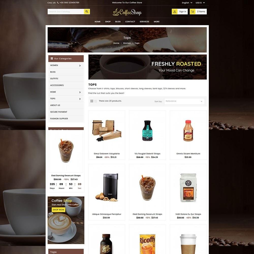 theme - Bebidas & Tabaco - Coffee and Drinks Store - 4
