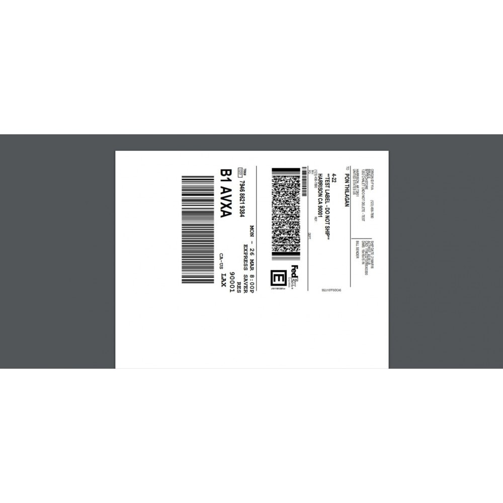 module - Gastos de transporte - FedEx Shipping Module with Print Label - 1