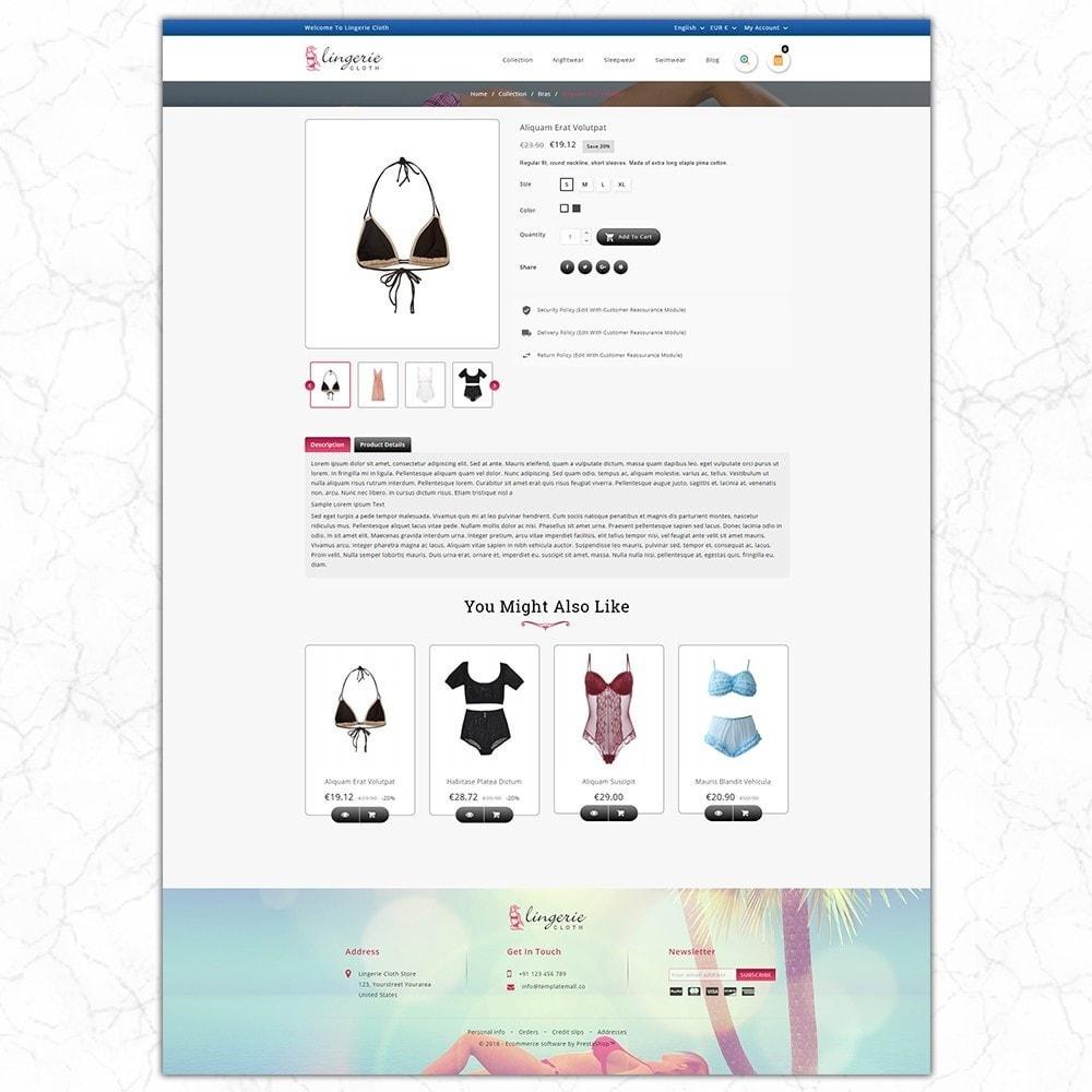 theme - Нижнее белье и товары для взрослых - LingerieCloth - Lingerie Store - 5