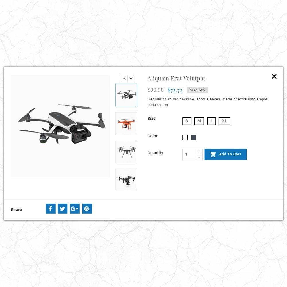 theme - Elettronica & High Tech - Skyclops Drone Store - 6