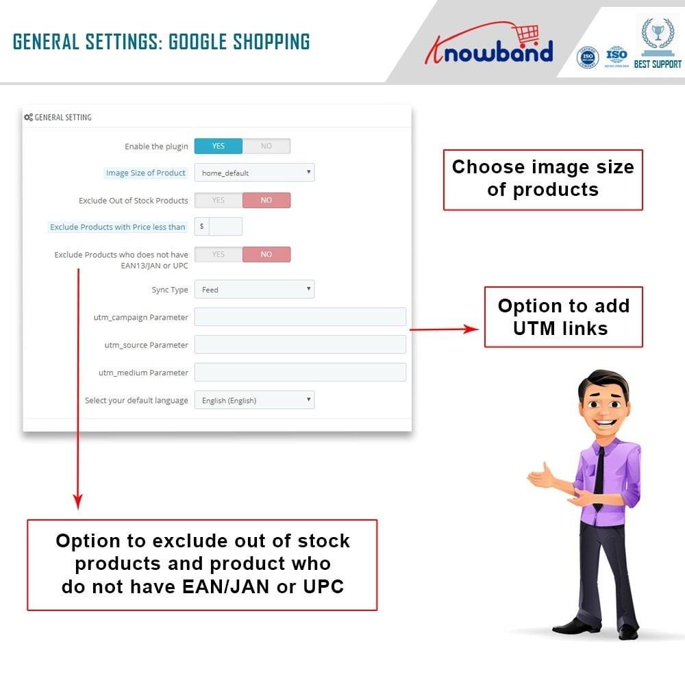 module - Prijsvergelijkers - Google Shopping (Google Merchant Centre) - 2