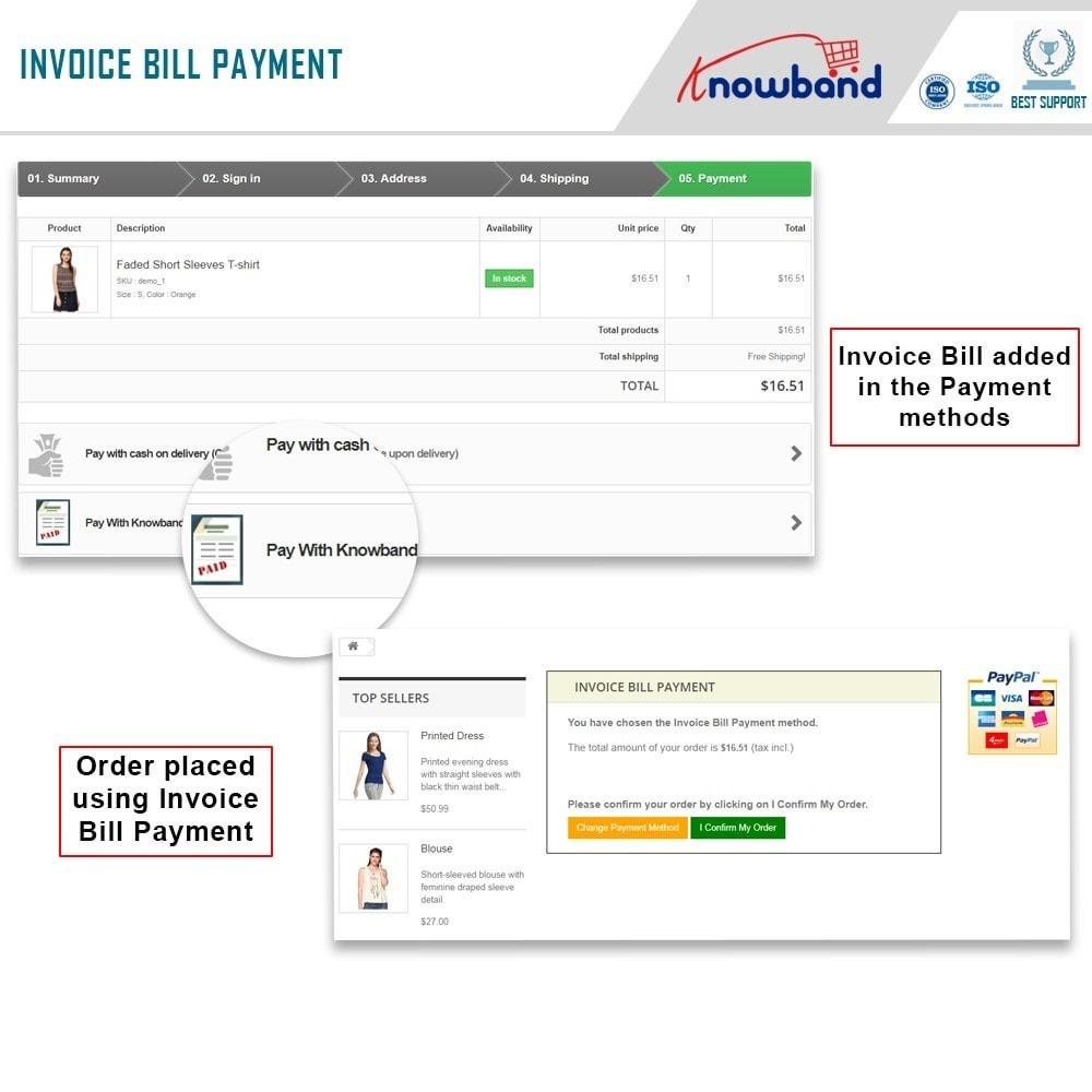 module - Paiement par Facture - Knowband - Invoice Bill Payment - 2