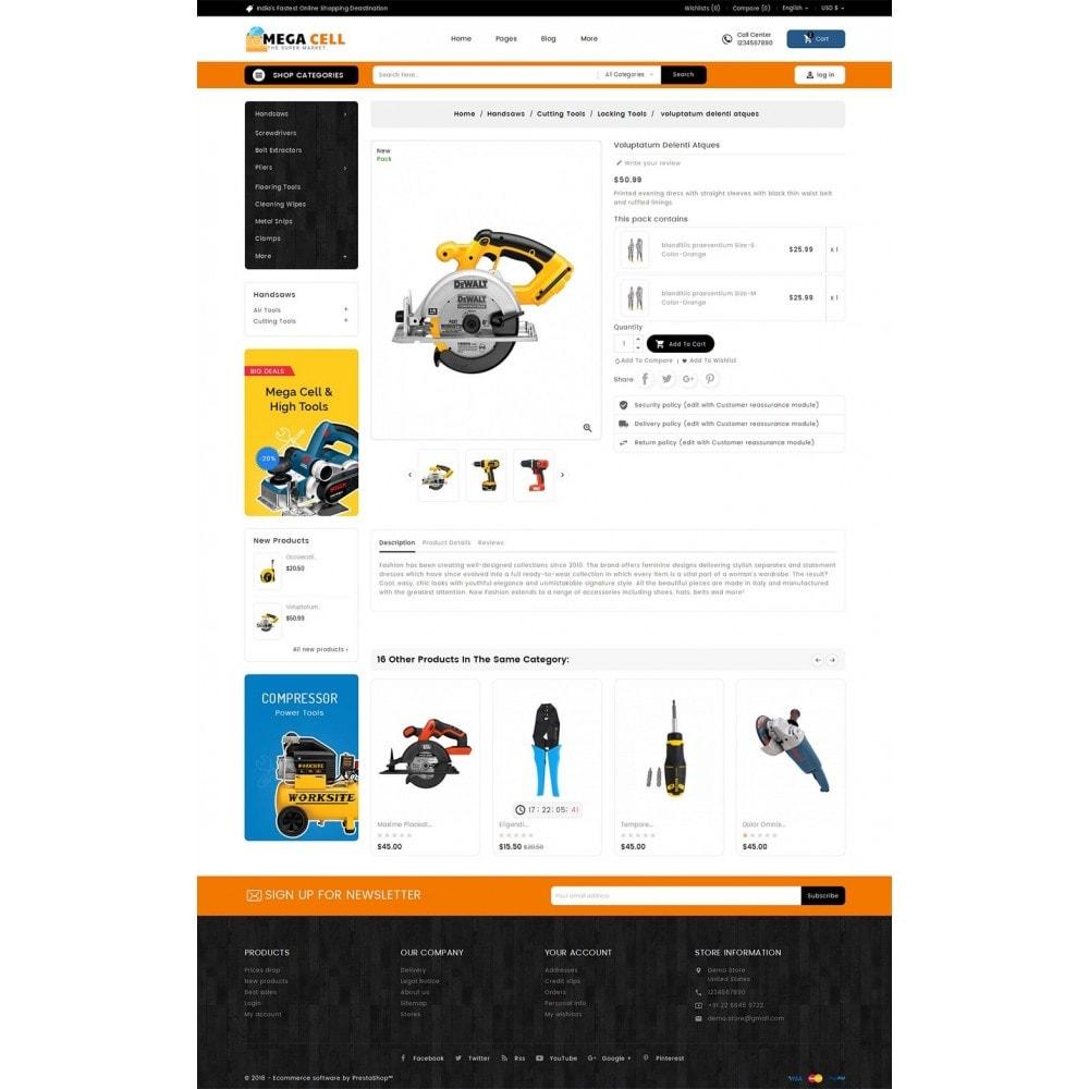 theme - Dom & Ogród - Mega Cell Tools Equipment - 5