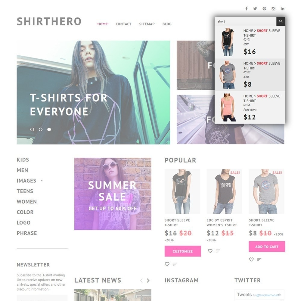 theme - Мода и обувь - ShirtHero - T-shirt - 4