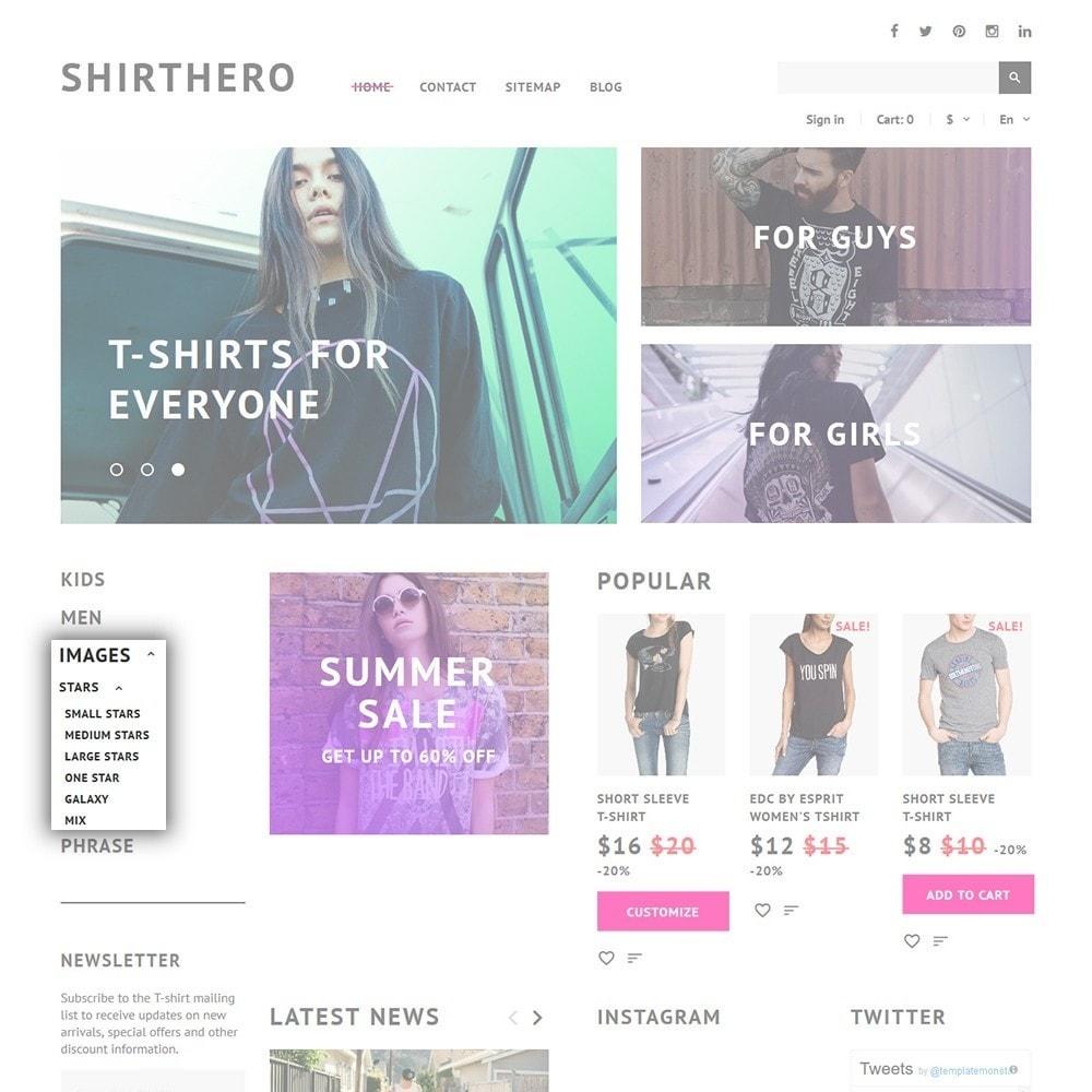 theme - Мода и обувь - ShirtHero - T-shirt - 6