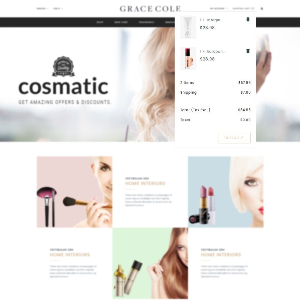 theme - Health & Beauty - Grace Cole Cosmetic Store - 8
