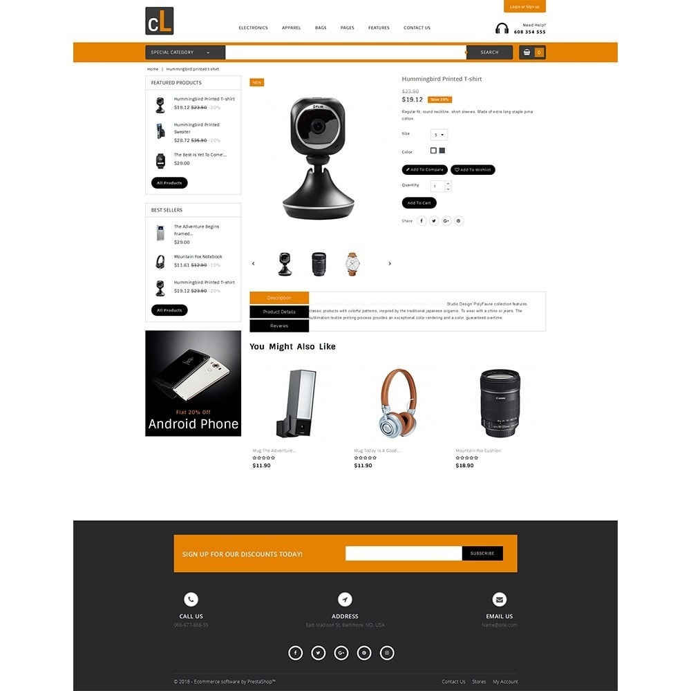 theme - Elettronica & High Tech - CL Electronic Store - 5