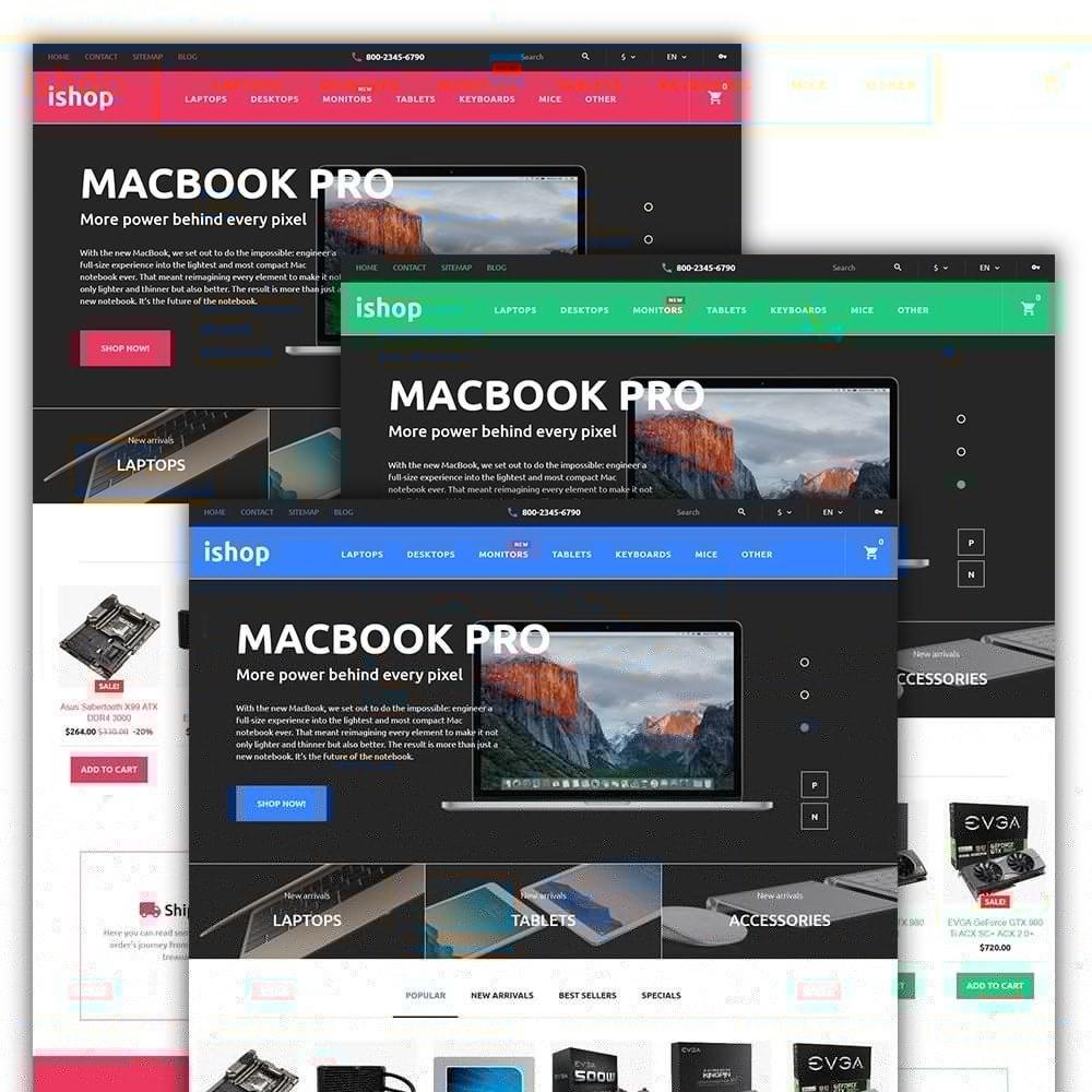 theme - Electrónica e High Tech - iShop - Computer Store - 2