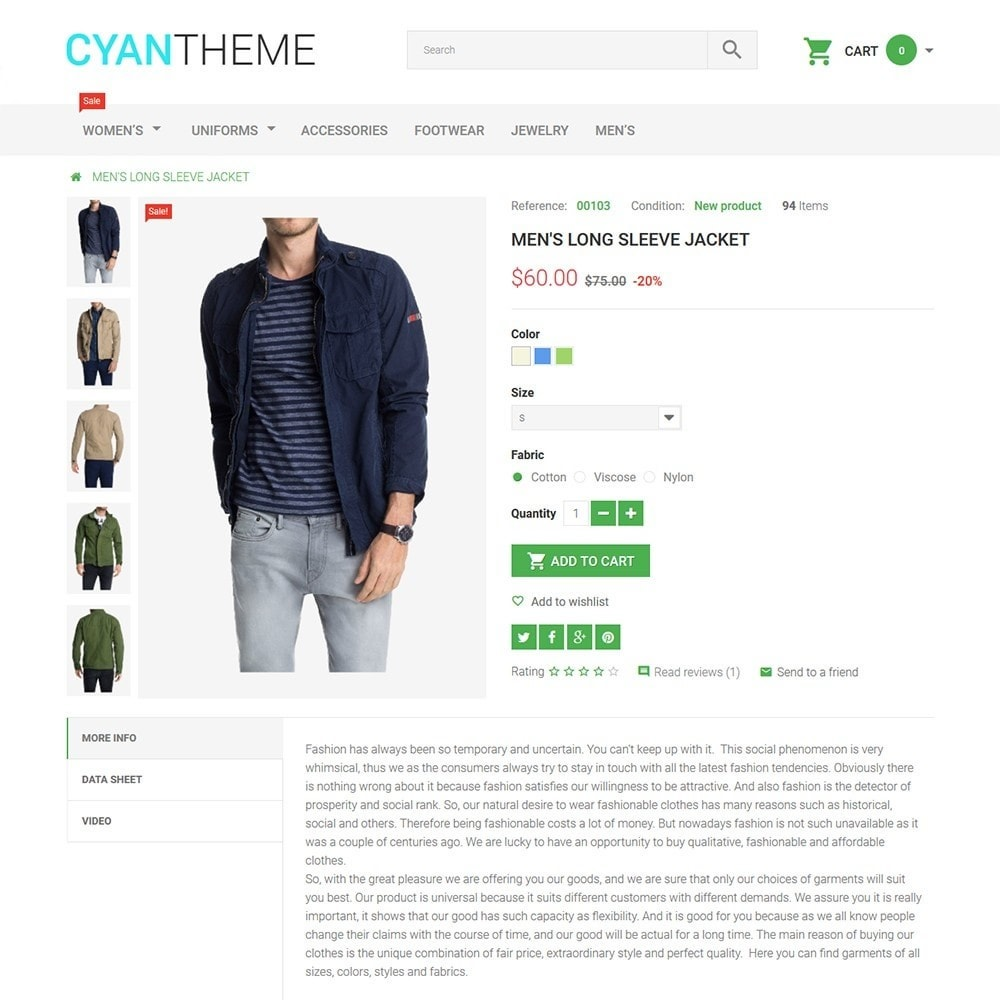 theme - Fashion & Shoes - CyanTheme - Fashion Store - 3