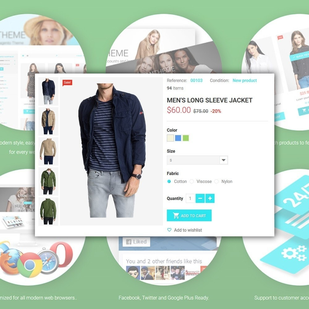 theme - Mode & Chaussures - CyanTheme - Fashion Store - 4