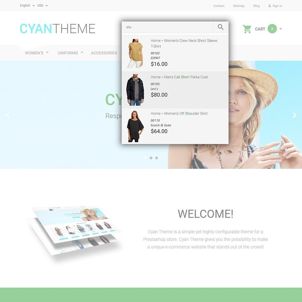 theme - Mode & Chaussures - CyanTheme - Fashion Store - 6