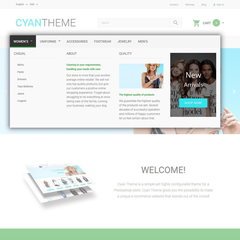 theme - Мода и обувь - CyanTheme - Fashion Store - 5