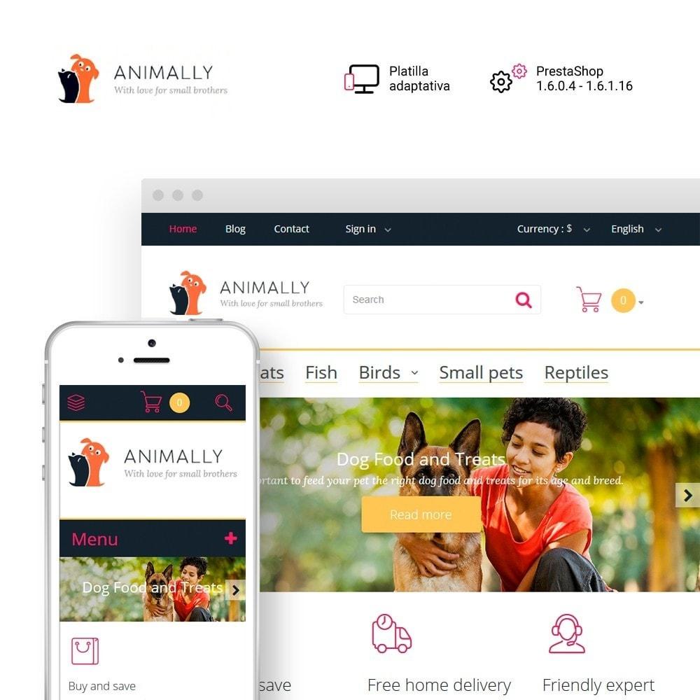 theme - Animales y Mascotas - Animally - Animals & Pets - 1
