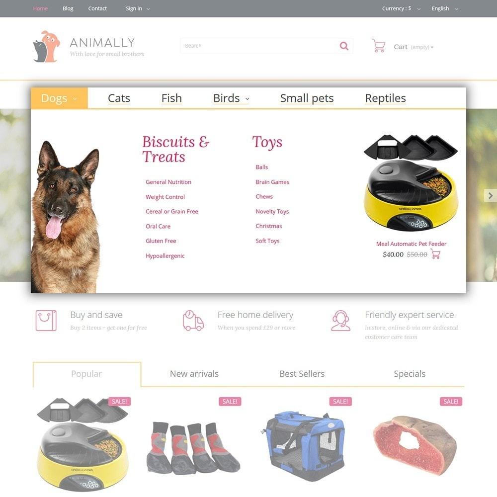theme - Animales y Mascotas - Animally - Animals & Pets - 4