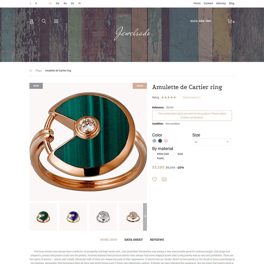 theme - Мода и обувь - Jewelsado - Jewelry Store - 3