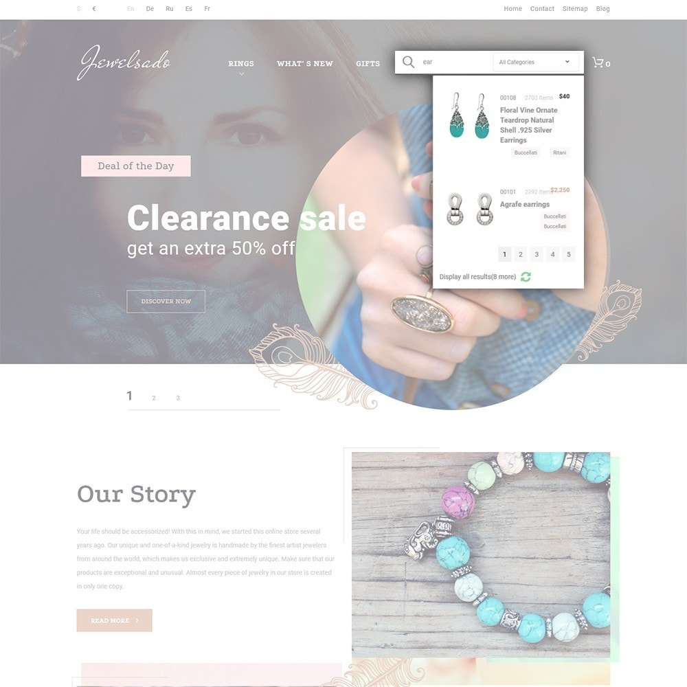 theme - Мода и обувь - Jewelsado - Jewelry Store - 6