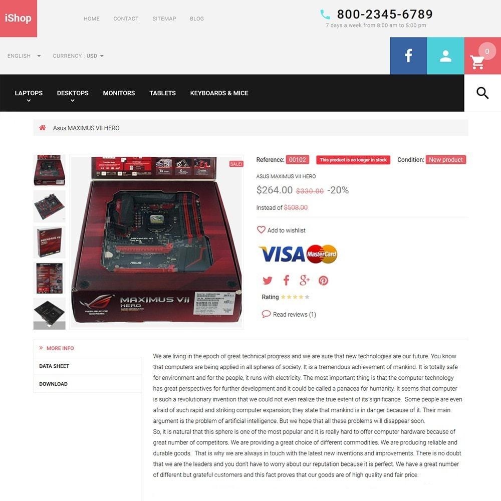 theme - Electronique & High Tech - iShop - White Computer Store - 3