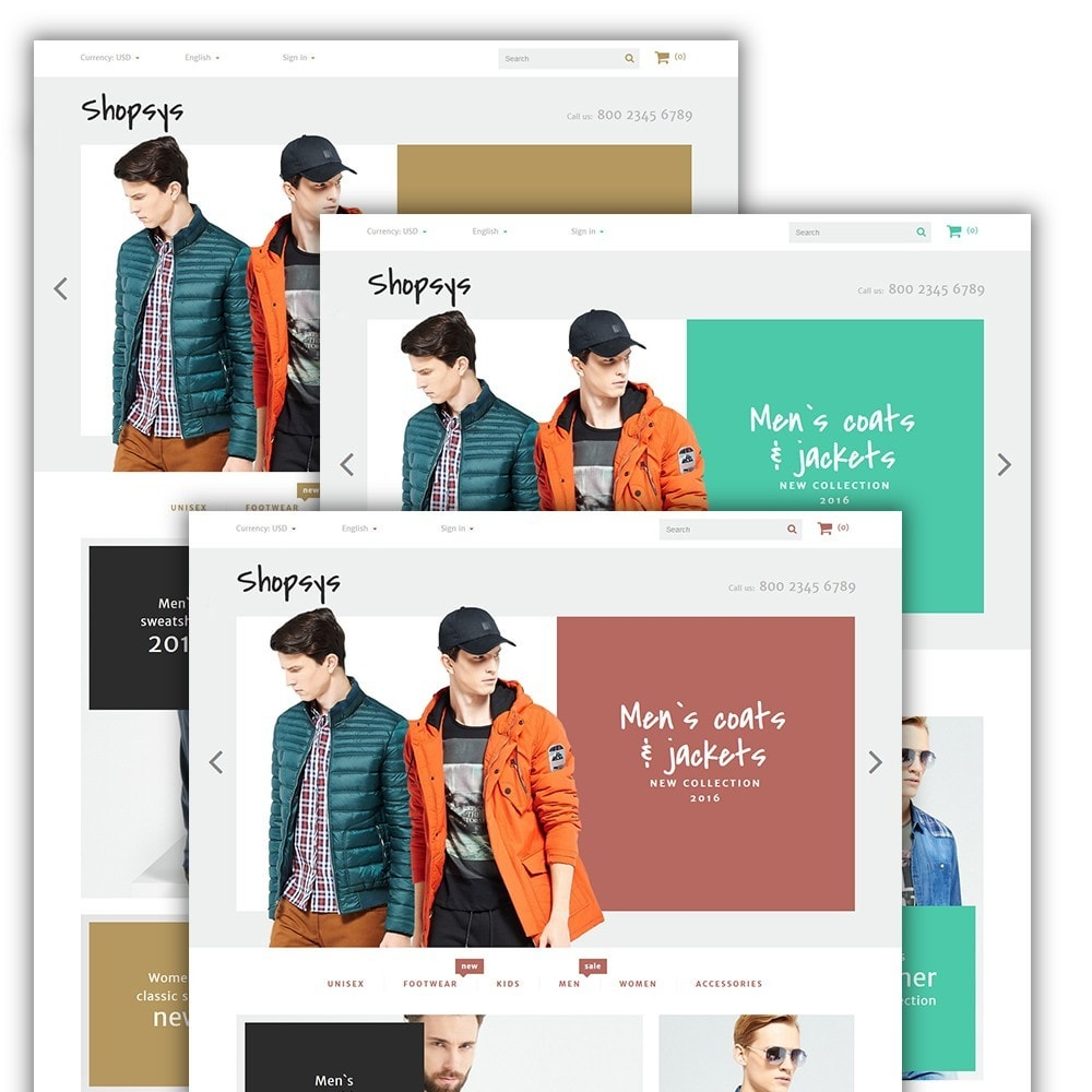 theme - Mode & Chaussures - Shopsys - Trendy Clothes - 2