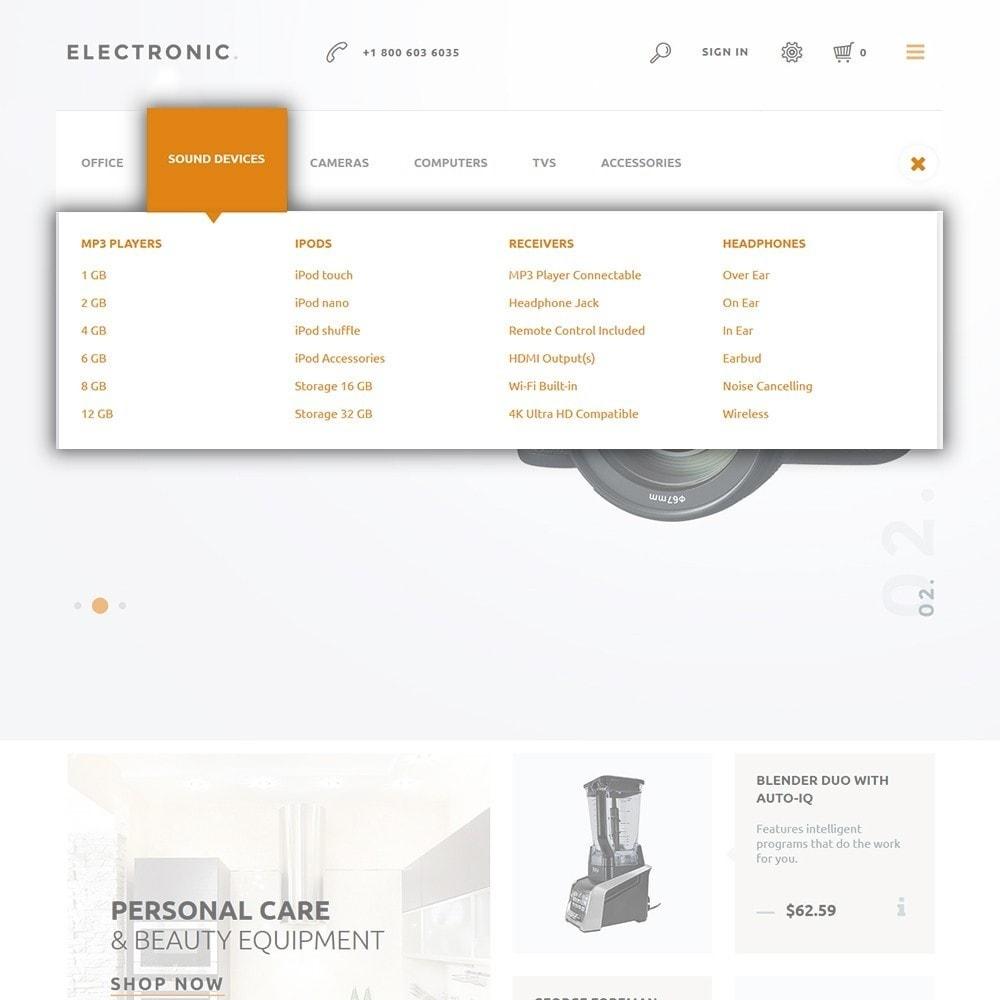 theme - Электроника и компьютеры - Electronic - White Electronics Store - 4