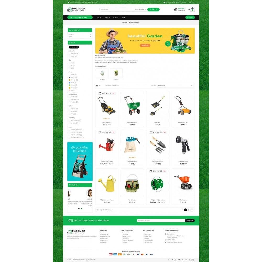 theme - Dom & Ogród - Mega Mart Gardening Tools - 3