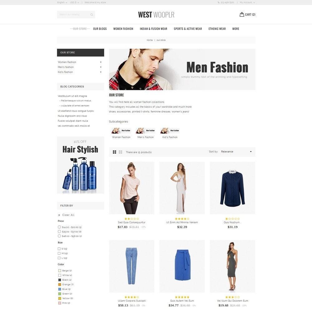 theme - Moda & Calzature - West Wooplr - Fashion Collection - 4