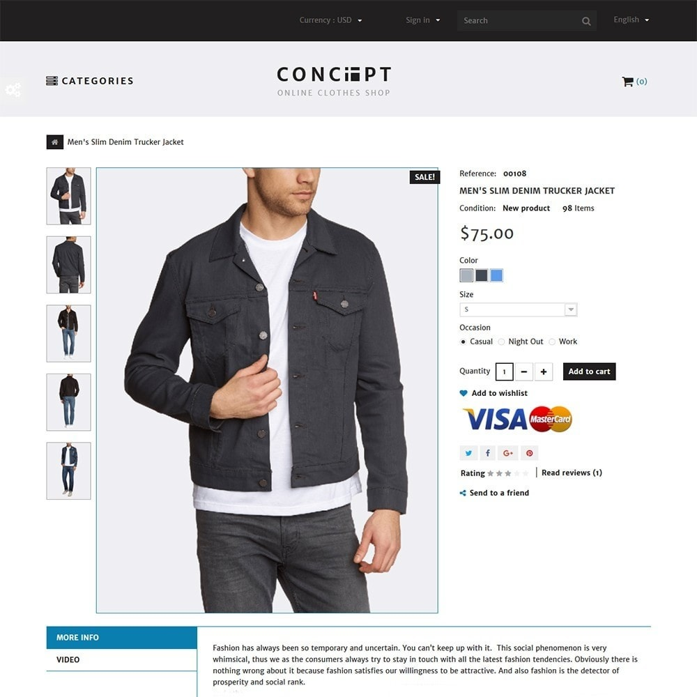 theme - Mode & Chaussures - Concept - Apparel Store - 3