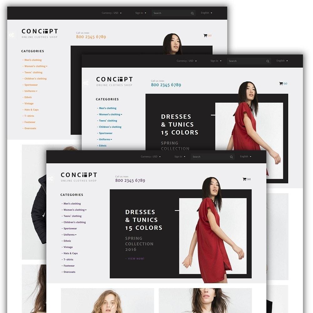 theme - Мода и обувь - Concept - Apparel Store - 2